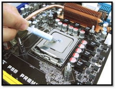 How to use the thermal grease at a better way